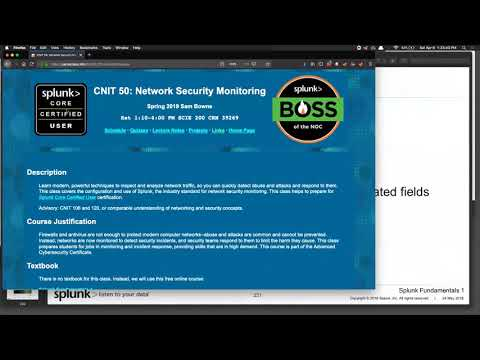 CNIT 50: Network Security Monitoring -- Sam Bowne