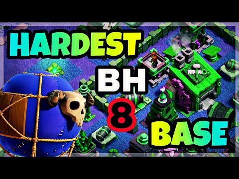 BEST BUILDER HALL 8 BASE LAYOUT WITH PROOF   HARDEST BH8 DEFENCE BASE IN COC   CLASH OF CLANS