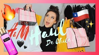 SUPER MEGA HAUL DE CHILE!!! Forever21,Victoria's Secret ,H&M..   Melina Quiroga Makeup
