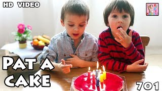 Fun Play by Kids   Pat a cake Pat a cake - Nursery rhyme with lyrics for children  