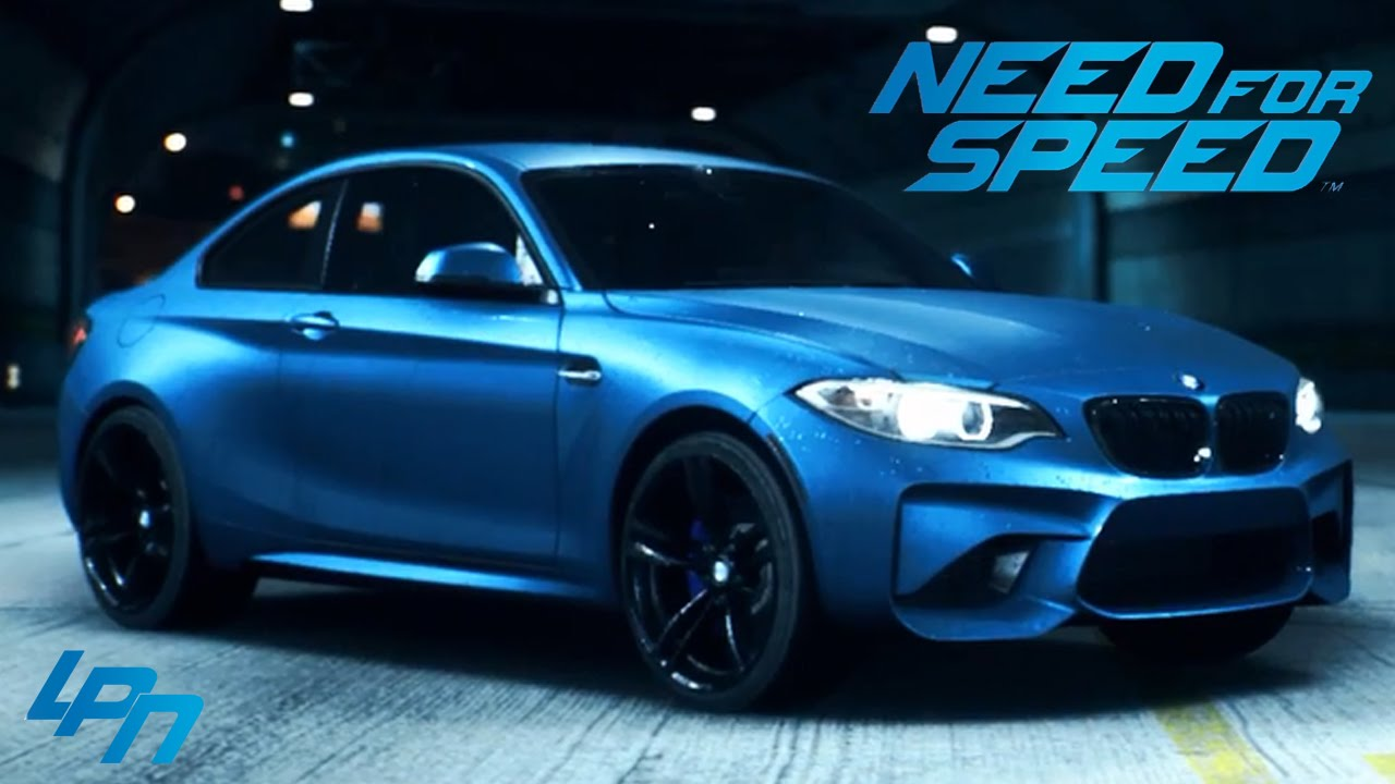 need for speed 2015 bmw m2 coup trailer youtube. Black Bedroom Furniture Sets. Home Design Ideas