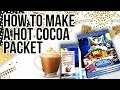 NEW Christmas or Valentine's Day Hot Cocoa Pack Tutorial
