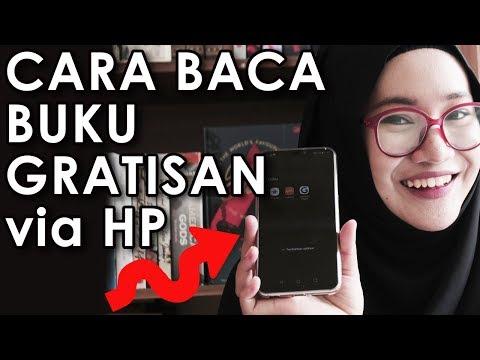 CARA BACA BUKU GRATISAN PAKE HP - Bookism Gia