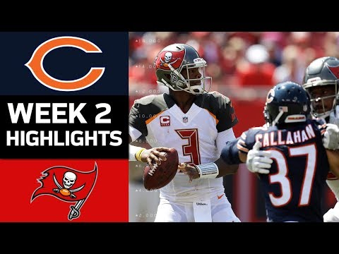 Bears vs. Buccaneers | NFL Week 2 Game Highlights