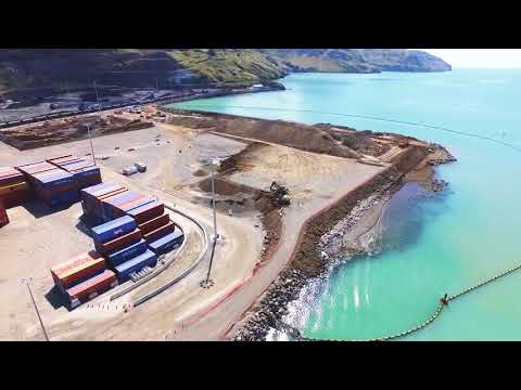 Port of Lyttelton Reclamation Area