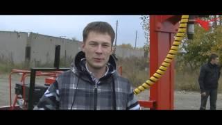 Буровая установка Стронг Гидро 21 ПУ. Отгрузка в г. Иваново