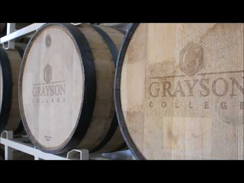 Grayson College Distillery tour 2019