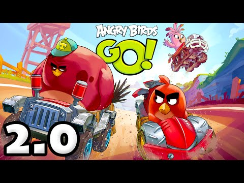 Angry Birds Go! 2.0! Gameplay Walkthrough Part 1 - Brand New Update and Refresh! (iOS, Android)