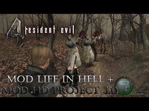 RE 4 MODS HD Project 3.0 e Life In Hell (PC) - Zerar em menos de 8 horas #1