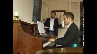RTVE - A. Morandini con C. Colombara