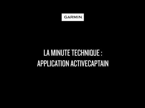Garmin Marine Webinars : L'application ActiveCaptain
