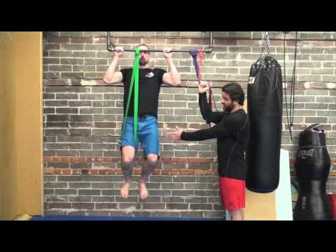 Resistance Band Isted Pullups