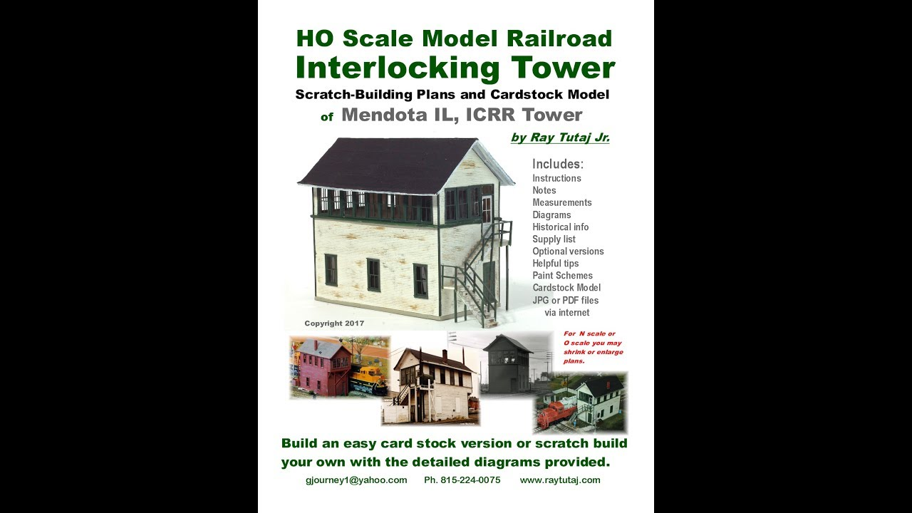 Build an Interlocking Tower for your Model Railroad on passenger car house plans, railroad home, rockwood house plans, roadside house plans, riverside house plans, california house plans, windsor house plans, springfield house plans, truck house plans, 1800's house plans, water house plans, hanover house plans, round barn house plans, pittsburgh house plans, washington house plans, rome house plans, construction house plans, israel house plans, richfield house plans, palmyra house plans,