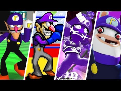 Evolution of Waluigi Battles in Mario games (2000 - 2017)