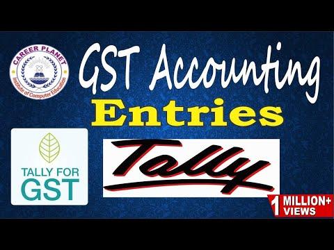 Descargar Video Tally ERP 9-GST Accounting Entries in Tally (Hindi) Part-2|GST Ledgers CGST SGST IGST Sales Purchase