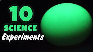 10 Amazing Science Experiments That You Can Do At Home Cool Science Experiments