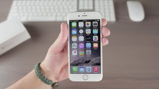 Apple iPhone 6 (Gold 64GB) - Unboxing and Overview