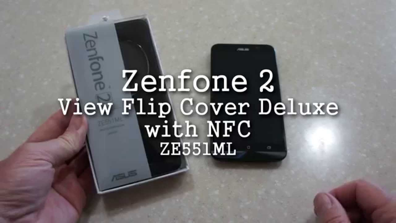Cover Nillkin Leather Quick View Asus Zenfone 2 - YouTube