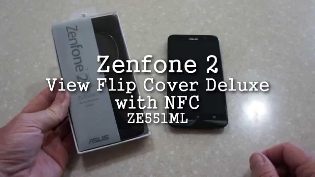 sale retailer af0b4 de03e ASUS ZenFone 2 View Flip Cover Deluxe
