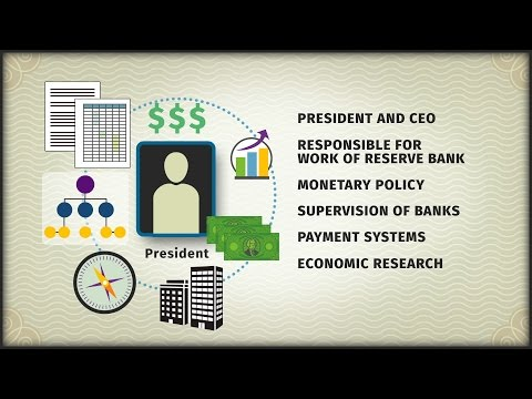 How is a Federal Reserve Bank president selected?