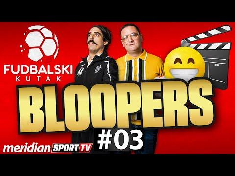 SMEŠNE SCENE SA SNIMANJA | Fudbalski kutak BLOOPERS #03