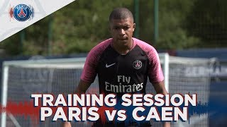 TRAINING SESSION - ENTRAINEMENTS - PARIS SAINT-GERMAIN vs CAEN
