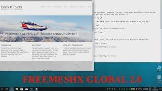 How to install FreeMeshX Global 2.0 (all regions) on Prepar3D P3D V4 (Updated 2018)