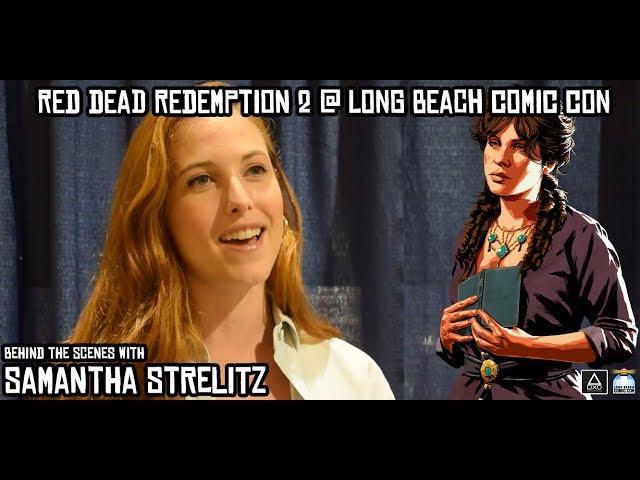 Long Beach Comic Con: Behind the Scenes With Samantha Strelitz