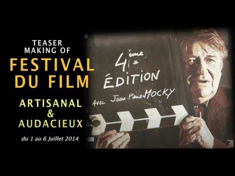 Teaser Festival du Film Artisanal & Audacieux de Joyeuse 2014 avec Jean-Pierre Mocky