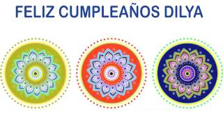 Dilya   Indian Designs - Happy Birthday