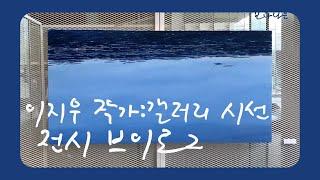 [보다나은전시] #전시후기 이지우 작가님 전시브이로그/…