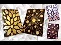 How to DIY Aluminum Foil Art craft tutorial | Как сделать Декор из фольги пошаговая инструкция