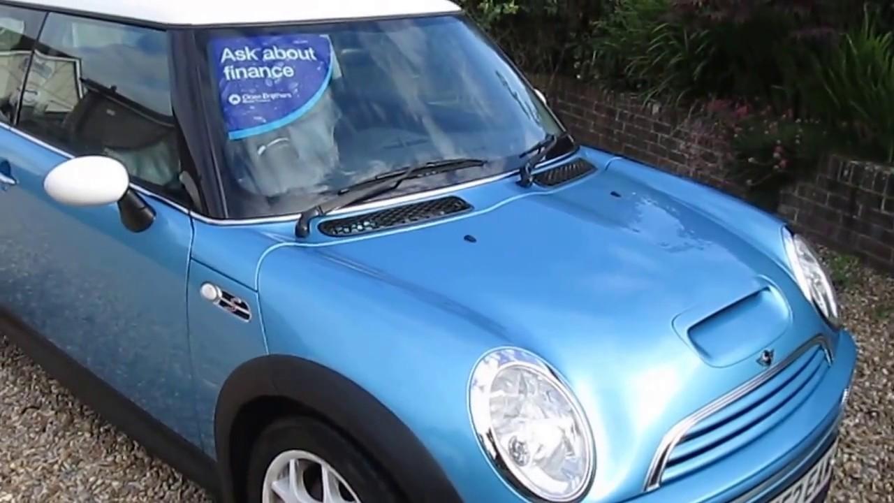 Mini Cooper s for sale at Vantage Car Sales PO22 0ER - YouTube