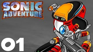 Sonic Adventure DX - E-102 Gamma's Story (part 1/2)