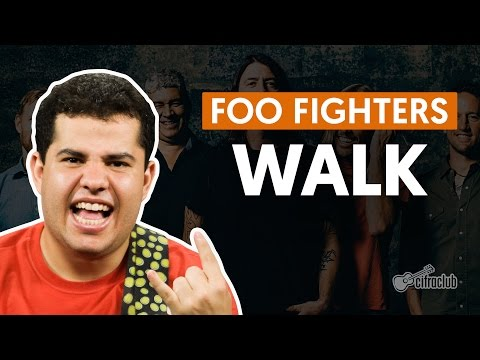 Walk - Foo Fighters (aula de guitarra)
