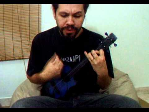 Nothingman Pearl Jam Cover On Ukulele By Kzma Youtube
