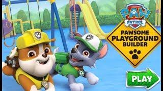 Щенячий патруль строят Детскую площадку. Детская игра онлайн. Игры онлайн бесплатно.