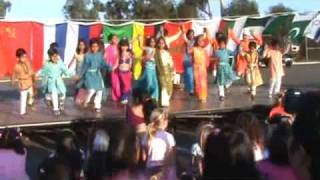 Indian traditional bollywood dance by childerens of Doyle elementry school san diego