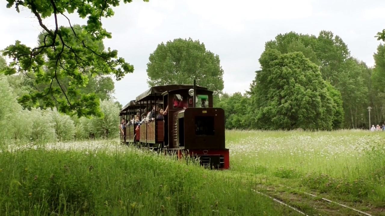 Besuch Der Parkbahn Im Britzer Garten Youtube