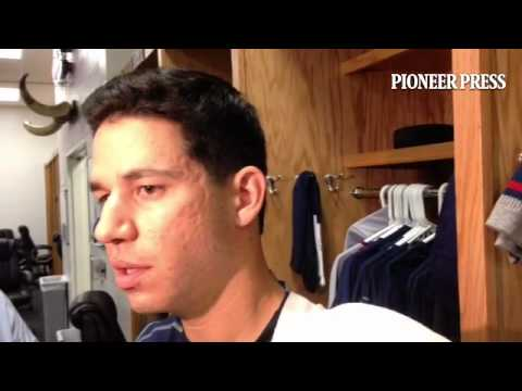 """Video: Tommy Milone explains how he was able to """"get on a roll"""" in 7 strong innings for #MNTwins at"""