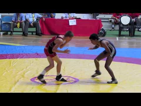 2012 Cadet Pan-American Championships: 46 kg Mason Daugherty (USA) vs. Columbia