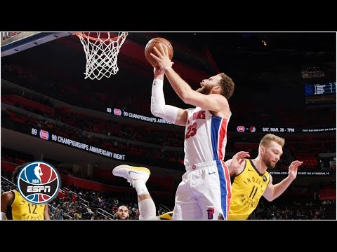 Blake Griffin's triple-double, Andre Drummond's 26 spark Pistons in chippy game | NBA Highlights