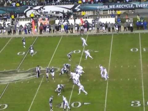 Eagles Vs. Colts 11/7/10: Asante Samuel Picks off Peyton Manning
