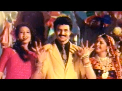 Jum Chaku Chaku Full Video Song || Aswamedham Movie || Balakrishna, Meena, Nagma