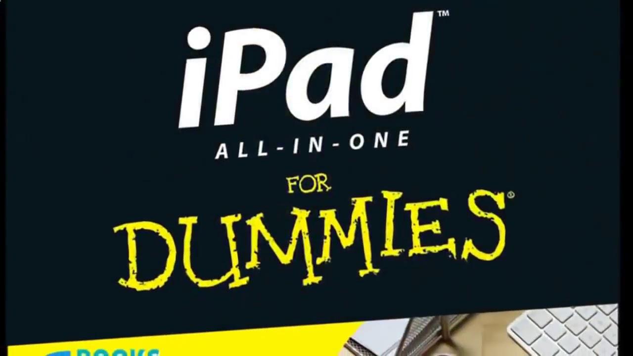 iPad tips for Dummies