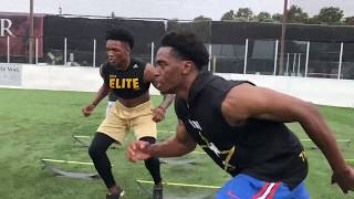 USC Football Players Do Hand Eye Coordination Workout With FASTER Performance Coach John Walker