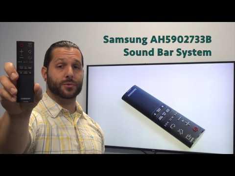 SAMSUNG AH5902733B Sound Bar System Remote - www.ReplacementRemotes.com