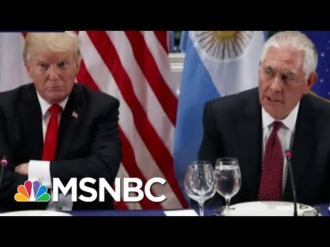 Rpt: Trump Once Ordered Tillerson To Help Giuliani Client Facing DOJ Charges | The Last Word | MSNBC