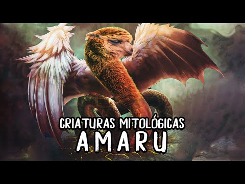 criaturas-mitológicas,-amaru-la-serpiente-alada