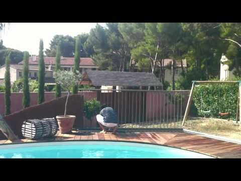 Barri re pacoha close up youtube - Barriere piscine escamotable ...